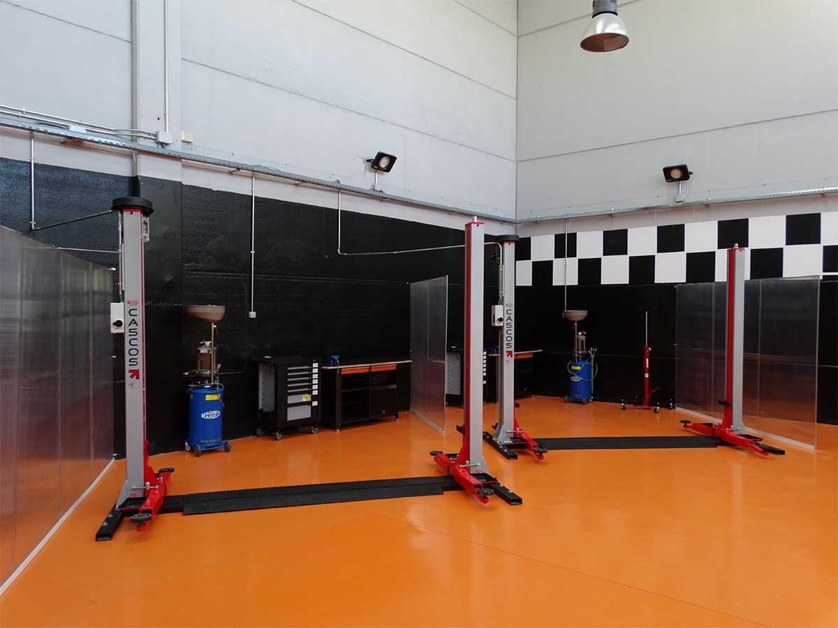 Elevador de vehículos RTMBOX